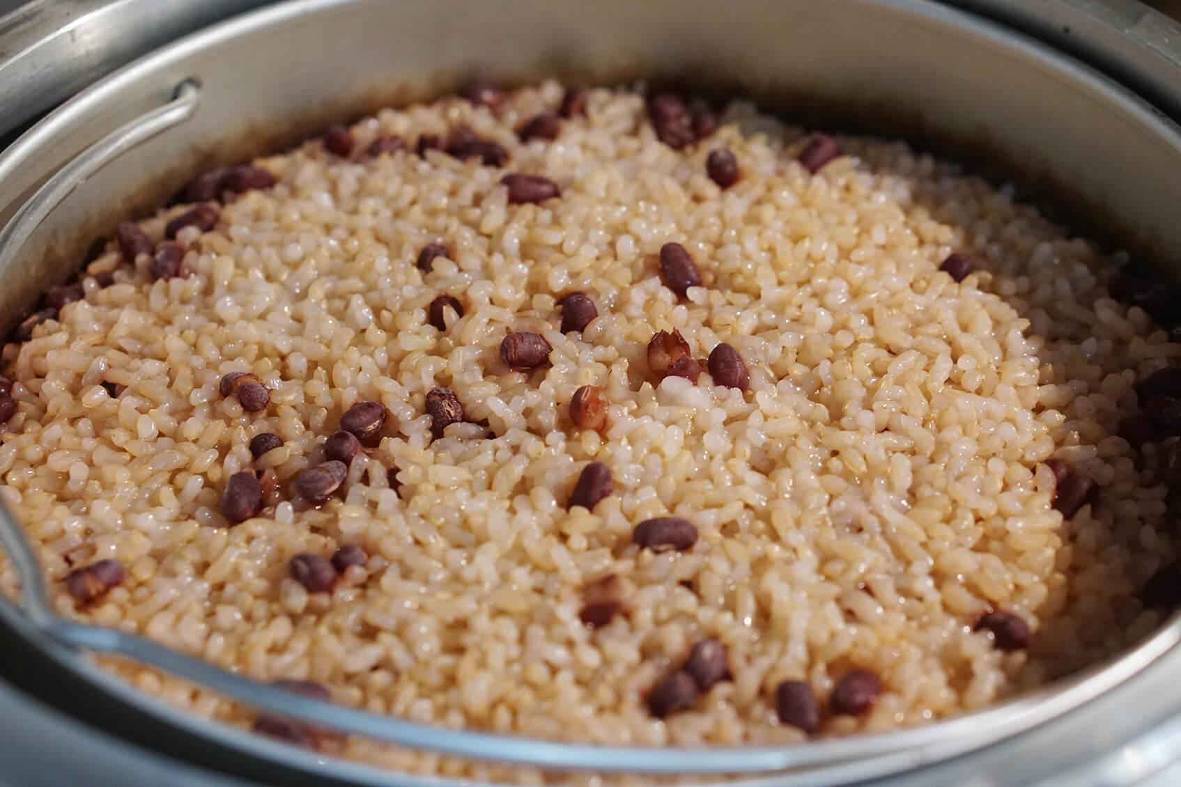 酵素玄米完成